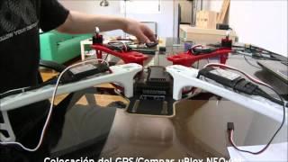 getlinkyoutube.com-Montaje Kit de Drone Arducopter APM F450