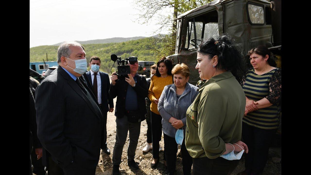 Հանրապետության նախագահ Արմեն Սարգսյանն այցելել է Շուռնուխ համայնք