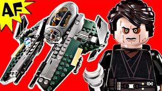 getlinkyoutube.com-ANAKIN'S JEDI INTERCEPTOR Lego Star Wars Set 9494 Animated Building Review