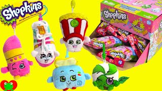 getlinkyoutube.com-*NEW* Shopkins Plush Hangers in Blind Bags with Poppy Corn and More