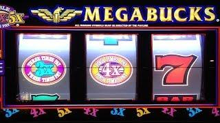 getlinkyoutube.com-Megabucks JACKPOT HANDPAY Wheel of Fortune Jackpots Slot Machine Jackpots Compilation