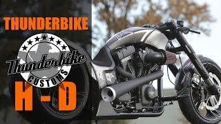 "getlinkyoutube.com-Harley Davidson ""Dragster RSR"" by Thunderbike 