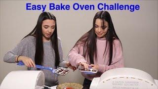 getlinkyoutube.com-Live: Easy Bake Oven Challenge - Merrell Twins