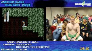 getlinkyoutube.com-Mega Man X Speed Run (0:36:51) (100%) Live at Awesome Games Done Quick 2013 [SNES]