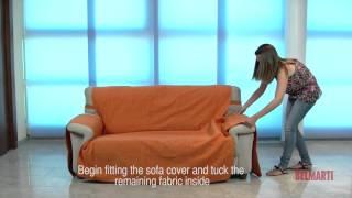 getlinkyoutube.com-funda cubre sofa   Rosagabriel.com