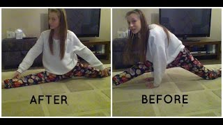 how to do the splits in ONE DAY! | Evie White