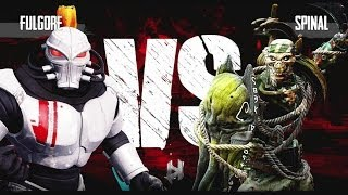 getlinkyoutube.com-Killer Instinct Xbox One Fulgore vs Spinal Kyle Difficulty Ultra Combo