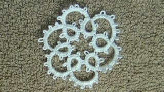 (Tutorial) How To Do Needle Tatting a Chain DIY ( Video 2)