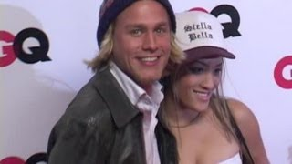 getlinkyoutube.com-CHARLIE HUNNAM and girlfriend attend GQ party - 2003
