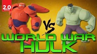 getlinkyoutube.com-Disney Infinity 2.0: Toy Box - World War Hulk (Marvel Super Heroes)