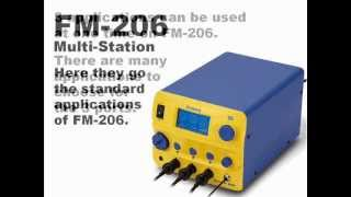 HAKKO FM-206; recommended application
