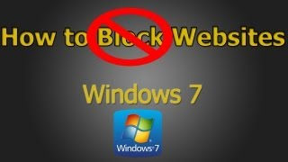 getlinkyoutube.com-How to Block/Unblock Websites on Windows 7 and 8 (HD)
