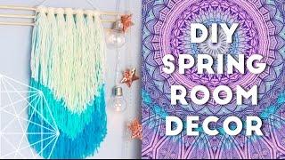 getlinkyoutube.com-DIY Spring Room Decor Ideas and Organization 2016