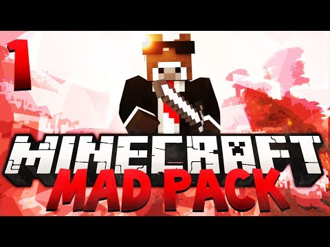Minecraft MAD PACK Modded Survival - Ep. 1 - No Chance To Survive (Mod Pack Let's Play)