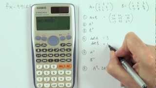 Bedienung des Taschenrechner fx-991DE PLUS von Casio - Teil 1 width=