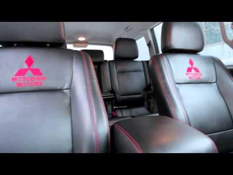 Перетяжка кожаного салона Mitsubishi Pagero IV