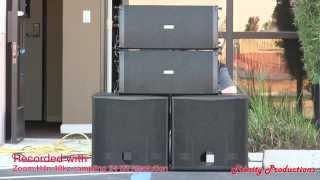 getlinkyoutube.com-FBT Muse Line Array - outdoor listening session (Authorized Dealers)
