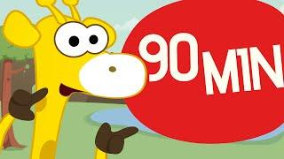 getlinkyoutube.com-Incy Wincy Spider and more   Nursery Rhymes   90 min   Toobys