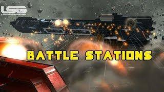 getlinkyoutube.com-Space Engineers - Weapon Evaluation, Battle Ship Combat Scenarios