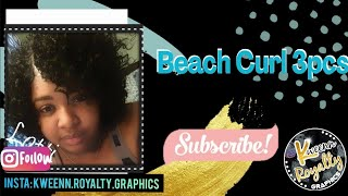 getlinkyoutube.com-quick weave : Que by milkyway: beach curl 3pcs