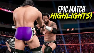 getlinkyoutube.com-WWE 2K15 Payback 2015 Neville vs King Barrett | Epic Match Highlights