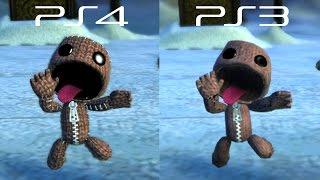 getlinkyoutube.com-LittleBigPlanet 3 BETA - PS3 VS PS4 Graphics Comparison - LBP3