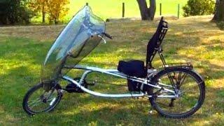 getlinkyoutube.com-[Hyperlapse] Electric Recumbent Bike Tour 750W Bafang BBS02