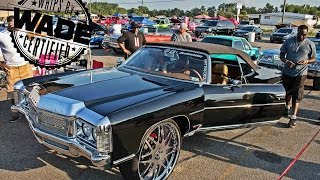 getlinkyoutube.com-Fast and Flashy 2015 : Donk Races & Car Show. Presented by Donk Master & Bat96Chevy