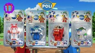 getlinkyoutube.com-Poli The Robocar! Robot Car Poli Toys