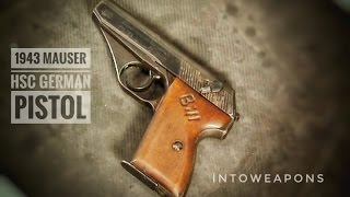 getlinkyoutube.com-1943 Mauser HSc - Shooting - Disassembly - Overview