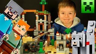 getlinkyoutube.com-LEGO MINECRAFT 21121 + Мультики. Обзор Лего Майнкрафт на русском языке. Кока Туб