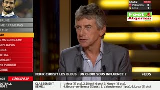 getlinkyoutube.com-Intervention du sélectionneur national Christian Gourcuff sur l'Equipe 21