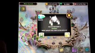 OMG I JUST HATCHED 2 REEBROS and 1 GHAZT .... My Singing Monsters !!!