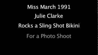getlinkyoutube.com-Julie Clarke in a Sling Bikini