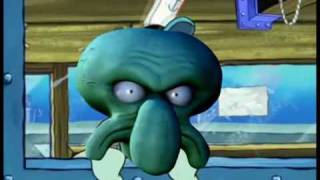 getlinkyoutube.com-Squidward eats garbage and blows up for no reason