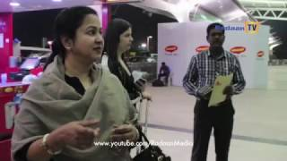getlinkyoutube.com-Vaani Rani Team Leaves to Australia | Exclusive from the Chennai Airport - 1