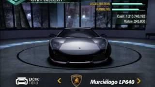 getlinkyoutube.com-NFS Carbon: Bonus Cars In Career Mode