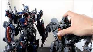 getlinkyoutube.com-Transformers DOTM Custom Ultimate Optimus Prime