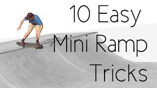 getlinkyoutube.com-10 Easy Mini Ramp Tricks ft. Bruno