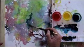 getlinkyoutube.com-Watercolor Painting with Lian Quan Zhen: Grapes (Preview)