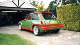 getlinkyoutube.com-Renault  5 v8 Supercar