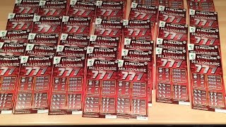 getlinkyoutube.com-Full Pack of 40 Millionaire 777 Scratchcards