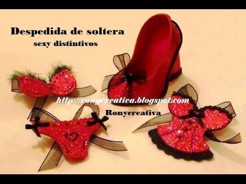 SEXY-DISTINTIVOS PARA DESPEDIDA DE SOLTERA /HEN PARTY SOUVENIRS DIY