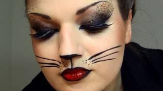 getlinkyoutube.com-Sexy Cat Halloween Makeup