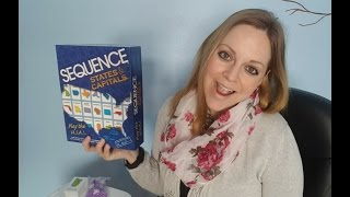 Homeschool Fun Friday:  Sequence States and Capitals Game Review