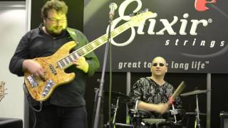 getlinkyoutube.com-London Bass Guitar Show 2015 - Yolanda Charles, Federico Malaman,Gergo Borlai, Elixer string #4
