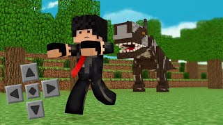 getlinkyoutube.com-‹ Minecraft Pe 0.14.0 › MOD DOS DINOSSAUROS! - JURASSIC POCKET!! (Pocket Edition)