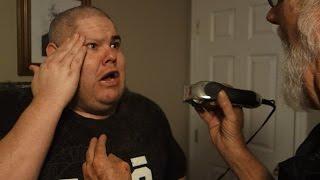 getlinkyoutube.com-GRANDPA SHAVED OFF MY EYEBROWS!!