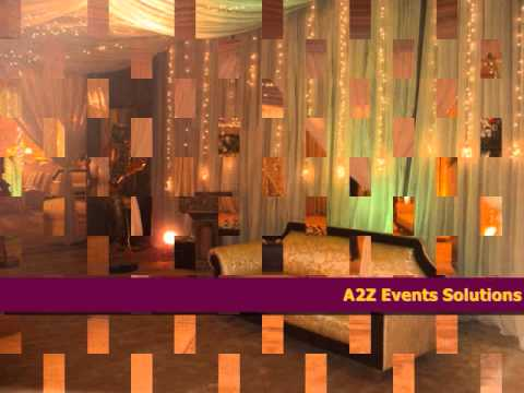 a2z Events Solution's Best Mehndi Setups, A2Z Events Solutions Designs top class Mehndi Events