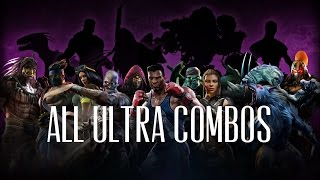 getlinkyoutube.com-Killer Instinct All Season 1 and 2 Ultra Combos on Correct Stages 1080p 60fps